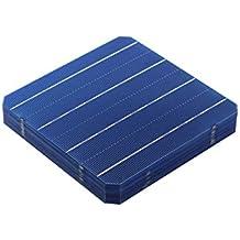 VIKOCELL 4.8W Fotovoltaico Silicio monocristalino Célula solar 6x6 para DIY Panel solar ( Paquete de 10 )