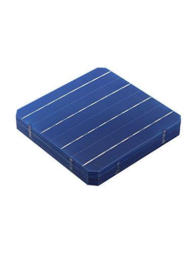 VIKOCELL 4.8W Photovoltaik Mono Solarzelle 6x6 für DIY Sonnenkollektor (Packung von 10)