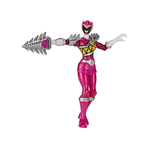Power Rangers Dino Super Charge jusqu'armées Rose 12,5 cm Figurine