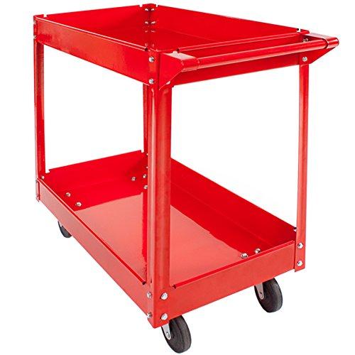 TecTake® 2 Etagen Werkstattwagen Werkzeugwagen Rollwagen Montagewagen Wagen Werkstatt - 4
