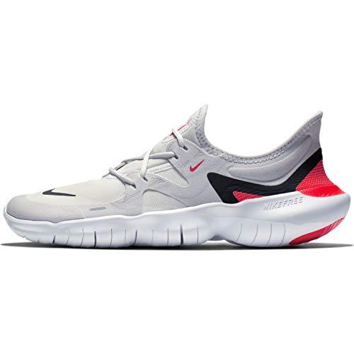 Nike Free Rn 5.0, Herren Laufschuhe, Grau (Vast Grey/Black-White-Bright Core 004), 45 EU (10 UK)