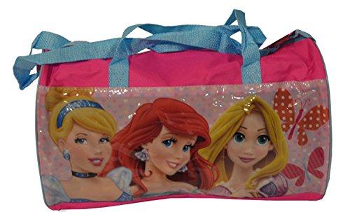 Kinder Sporttasche Disney Reisetasche Tasche f. Kinder Freizeittasche Turnbeutel in 4 Varianten CARS/ Planes/ Princess/ Mickey Mouse + Minnie Maus Größe 37 cm (Princess) Princess