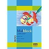 Idena 212013 Malblock A4, 70g/m², 100 Blatt, Schön Dick
