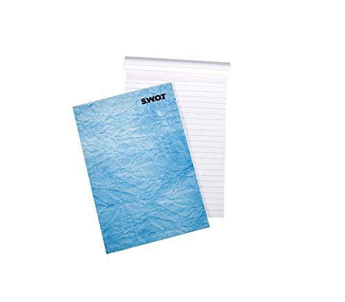 Swot Notepad - A5, 40 Pages (Pack of 12)