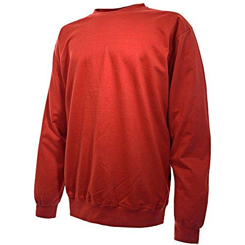 Blakläder Arbeitspullover 3340 100% Baumwolle 6 Farben XXXL Rot (3x Arbeitshemd)