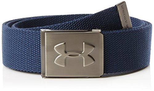 Under Armour Herren UA Webbing Belt Gürtel, Academy, OSFA