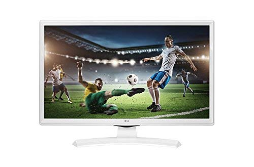LG 24TK410V-WZ - Monitor/TV de 24' Led TDT2 HD-Ready (1366 x 768 px, Modo Juego, Anti parpadeo, 200 Hz MCI, USB AutoRUN), Blanco