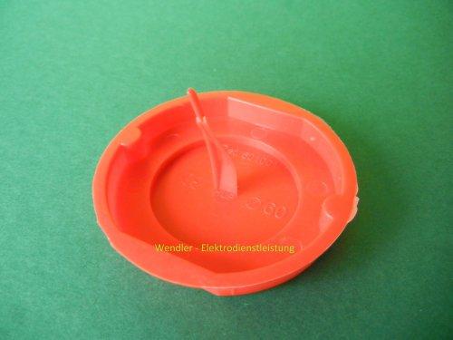 Preisvergleich Produktbild Signaldeckel,  Ø 60,  rot (50 Stück)