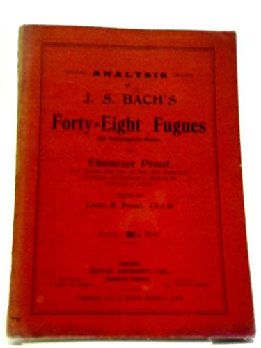 Analysis of J.S. Bach's Forty-Eight Fugues