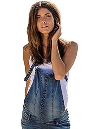 Love2Wait Umstands-Jeans ❤️ Latzhose Salopette ❤️ Verstellbarer Bund
