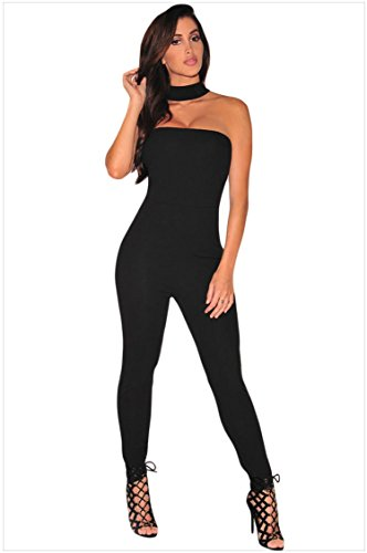 Pocket Cuffed Capris (MEINICE Damen Kleid Gr. S, schwarz)