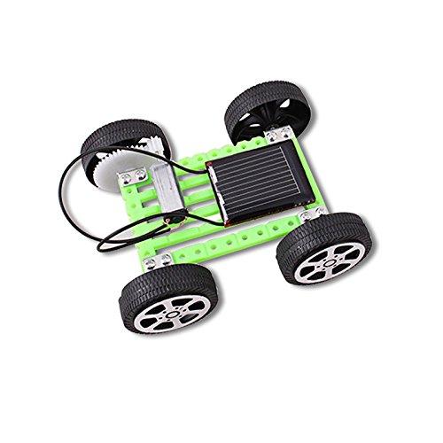 Preisvergleich Produktbild szzrlc Solarauto DIY Paket von Kindern Hand elektrisches Spielzeug DIY seltsames neues kreatives Spielzeug im Kindergarten