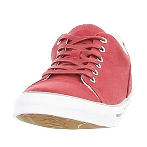 Timberland, Sneaker uomo Borgogna