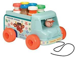 Fisher-Price 1705 - Jouet Premier Age - Milk Truck