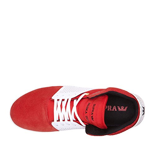 Supra Skytop S18091, Baskets mode homme Red - White Speckle