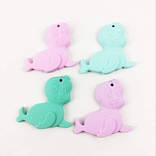 Baby Teether Toys Wooden Teether Silicone Teething Toy Teether Baby Pacifier Holder Baby Shower Gift Binky Clips 41U6t 2Bux iL