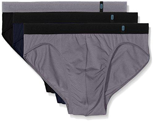 Schiesser Herren Slip 95/5 Rio, 3er Pack, Mehrfarbig (Sortiert 901), X-Large (Herstellergröße: 007)