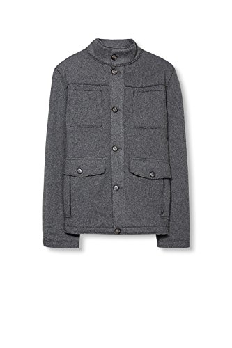 ESPRIT Herren Jacke Grau (Light Grey 040)