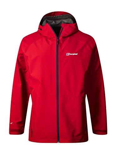 Berghaus Men's Paclite 2.0 Shell Jacket,Red(Haute Red),XL(114 - 120)