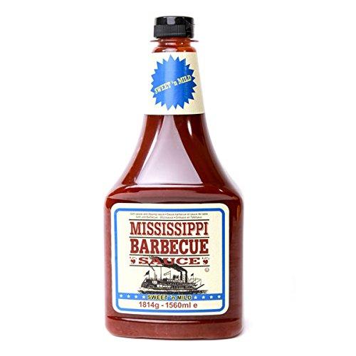 Mississippi BBQ Sauce Sweet'n Mild 1814g