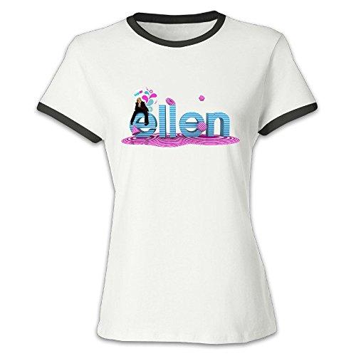 alonk-damen-ellen-ellen-degeneres-show-logo-t-shirt-aus-100-baumwolle-gr-large-schwarz