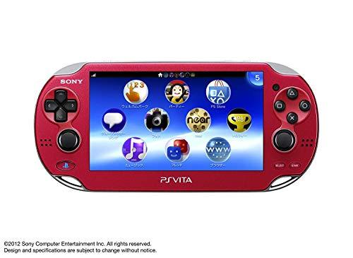 Sony Playstation Vita OLED 1000 Series WiFi (Zertifiziert generalüberholt) Rot rot
