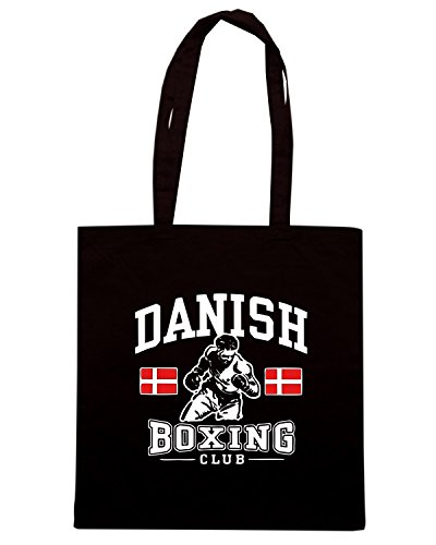 T-Shirtshock - Borsa Shopping TBOXE0078 danish boxing Nero