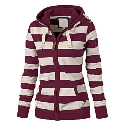 TOPKEAL Hoodie Pullover Damen Herbst Winter Kapuzenpullover mit Kapuze Sweatshirt Winterpullover Casual Slim Jacke Mantel Tops Mode 2019 ... -
