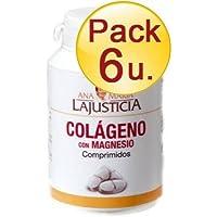 COLAGENO con MAGNESIO 180 C ANA MARIA LAJUSTICIA - pack6-