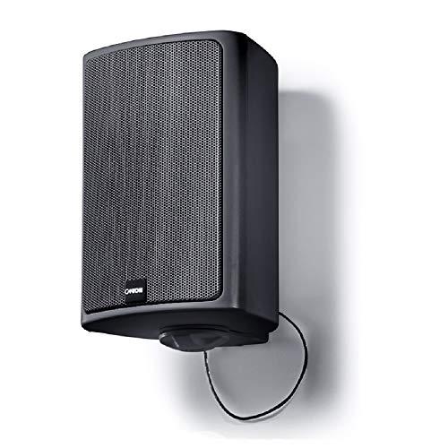 Canton Pro X.3 Universal In-/Outdoor-Lautsprecher (Musikbelastbarkeit 100 Watt) - Schwarz (Bluetooth Speaker X3)