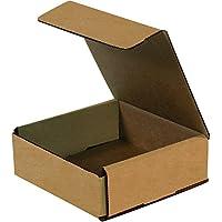 "Caja bm662K corrugado sobres, 6""x 2"", Kraft (Pack de 50)"