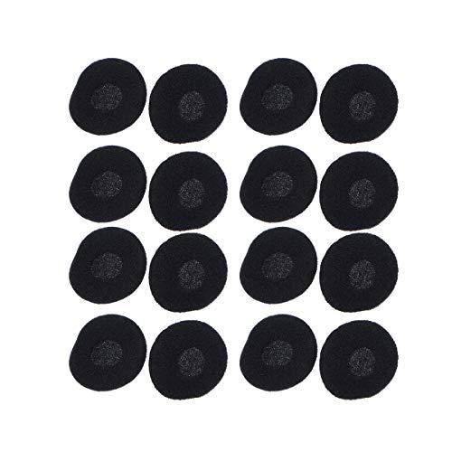WINOMO Ohrhörer umfasst 15 paar Ersatz-Schwamm-Abdeckungen für Ohrhörer Kopfhörer Weiche Ohr-Pads Abdeckungen