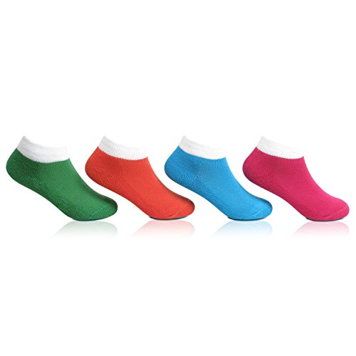 Bonjour Kids Sport Cushioned Socks for (3-5 Years) Pack Of 4 Pairs_BRO4001-02-PO4  available at amazon for Rs.199
