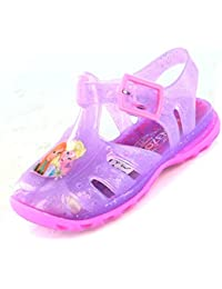 Disney Frozen Lilac Jelly Sandals Various Sizes