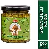 Martban Pickle Homemade Taste Green Chilli Pickle in Mustard Oil - 200 GR