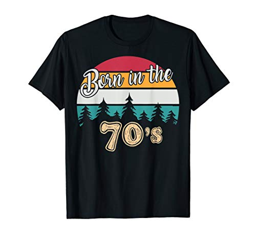 70er Jahre Stil T-Shirt Geburtstag geschenk (Für Frauen 70er-jahre-stil)