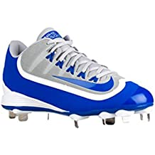newest 11756 e83ca Nike Air Huarache 2 K Suciedad Pro bajo Metal de béisbol Zapatos Tacos,  Azul