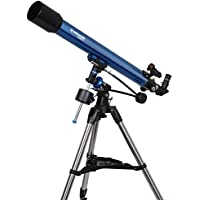Meade Instruments Polaris 90mm Refractor Azul - Telescopio