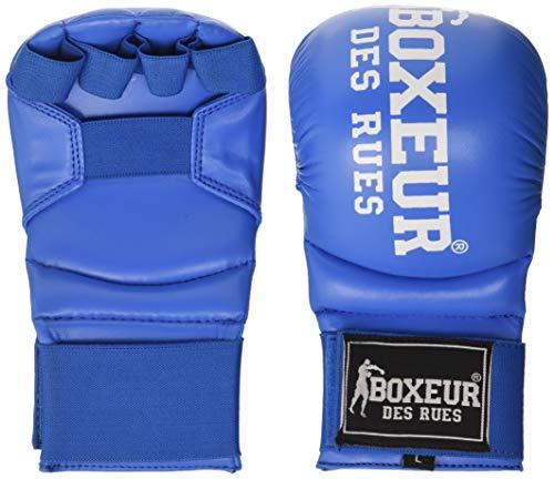 BOXEUR DES RUES BXT-5141 Karate-Handschuhe Und Boxhandschuhe, Blau, S