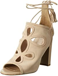 Laurèl Damen Sandale Knöchelriemchen