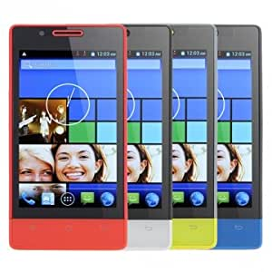 CUBOT C9+ 4.0 Inch 512MB ROM Android 4.2 1.2GHz Dual Core Smart Phone --- Color:Red