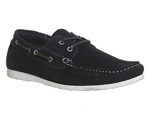 Ask The Missus, Sneaker uomo Marineblau (Veloursleder)