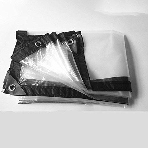 fensterplane FEI Wasserdichte Plane Klar Transparent Dick Wasserdicht Tuch Kunststoff Tuch Fenster Winddicht Tuch Floral Regen Tuch Crop Greenhouse Film professionelle Deckung  Plane (größe : 2×2m)