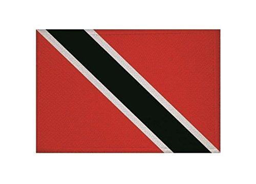 U24 Aufnäher Trinidad & Tobago Fahne Flagge Aufbügler Patch 9 x 6 cm (Trinidad Auto Fahne)