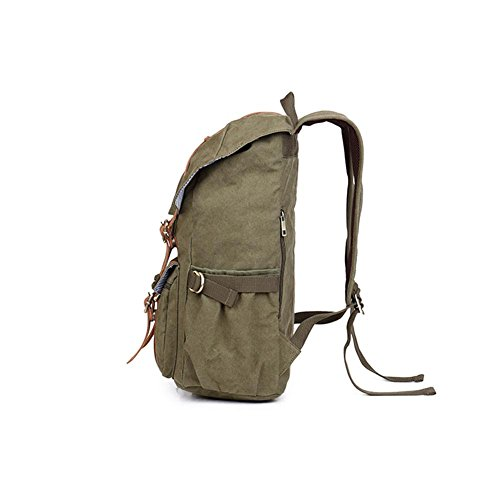TT Außen Umhängetasche Neutral-Beutel-Rucksack faltbare Reisetasche army green