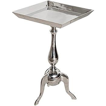 Beistelltisch aluminium  Stylischer Design Tablett Tisch TRAYFUL 55cm Beistelltisch Alu ...