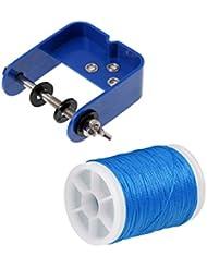 Sharplace Outil De Rangement De Corde D'arc Avec Corde Support Bricolage Corde Tir à Arc - Bleu