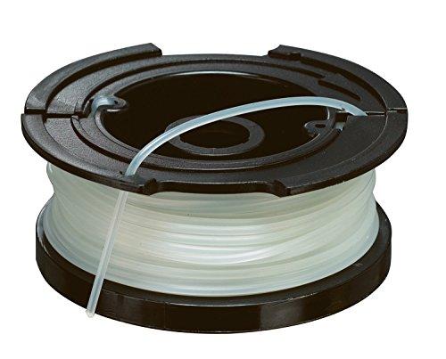 Black+Decker vollautomatische Einzelfadenspule (für Rasentrimmer 10m Länge, 1.5mm Fadendurchmesser) A6481