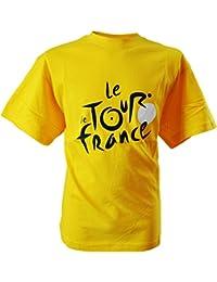 Tour de France Tdf-SE-3000 J 6/8A/B T-Shirt Mixte Enfant, Jaune, FR : 6-8 Ans (Taille Fabricant : 6-8 Ans)