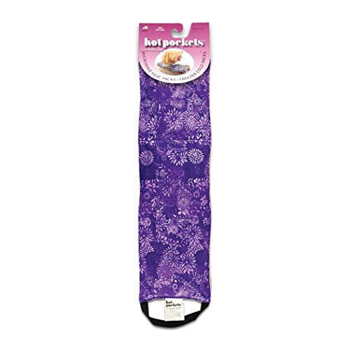 Zurück Hot-pad (Heizpad – Wӓrme- & Kӓltekissen mit 3 Kammern – Heizkissen für Stress- & Verspannungslinderung – Mikrowellengeeignet & Waschbar (Violette Blumen))